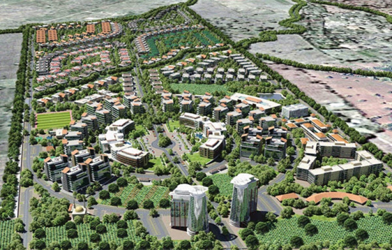 Proposed Homagama Techno City